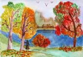 Осенний бал природы