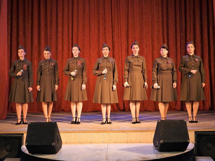 Районный фестиваль патриотической песни
