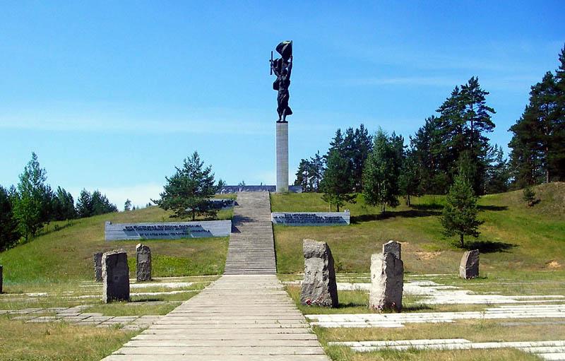 Мемориал партизанской славы г. Луга