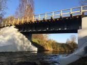 Под Лугой отремонтирован мост через Ящеру