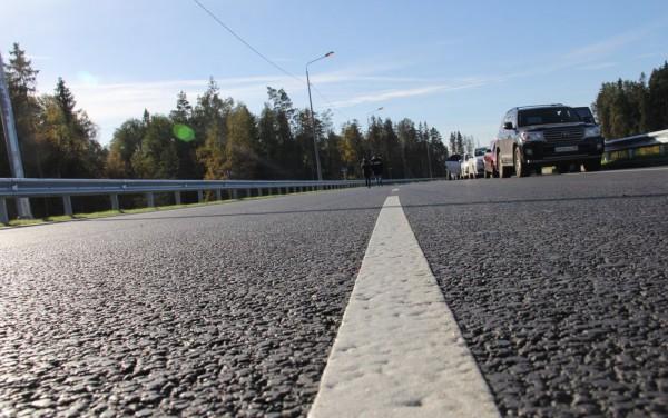 Новая автодорога через Лугу