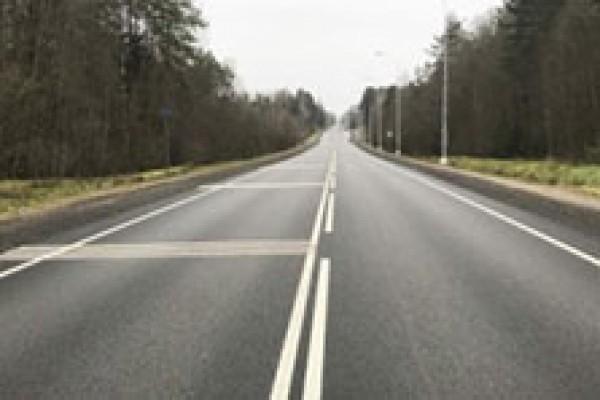 Отремонтированы подъезды к Луге со стороны Пскова и Санкт-Петербурга