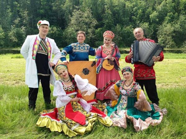 Праздник русской народной музыки в Луге