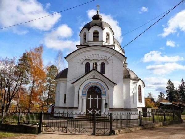 Собор Казанской Божьей Матери г. Луга
